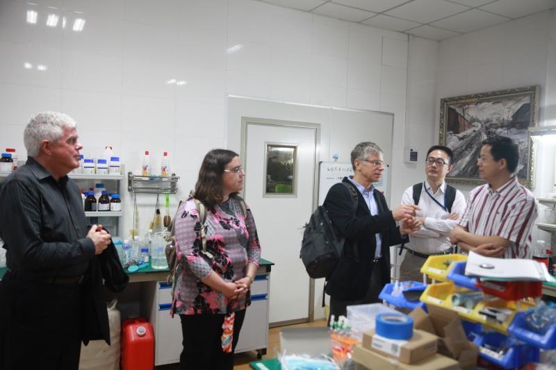 3-D printing lab at Zhejiang University