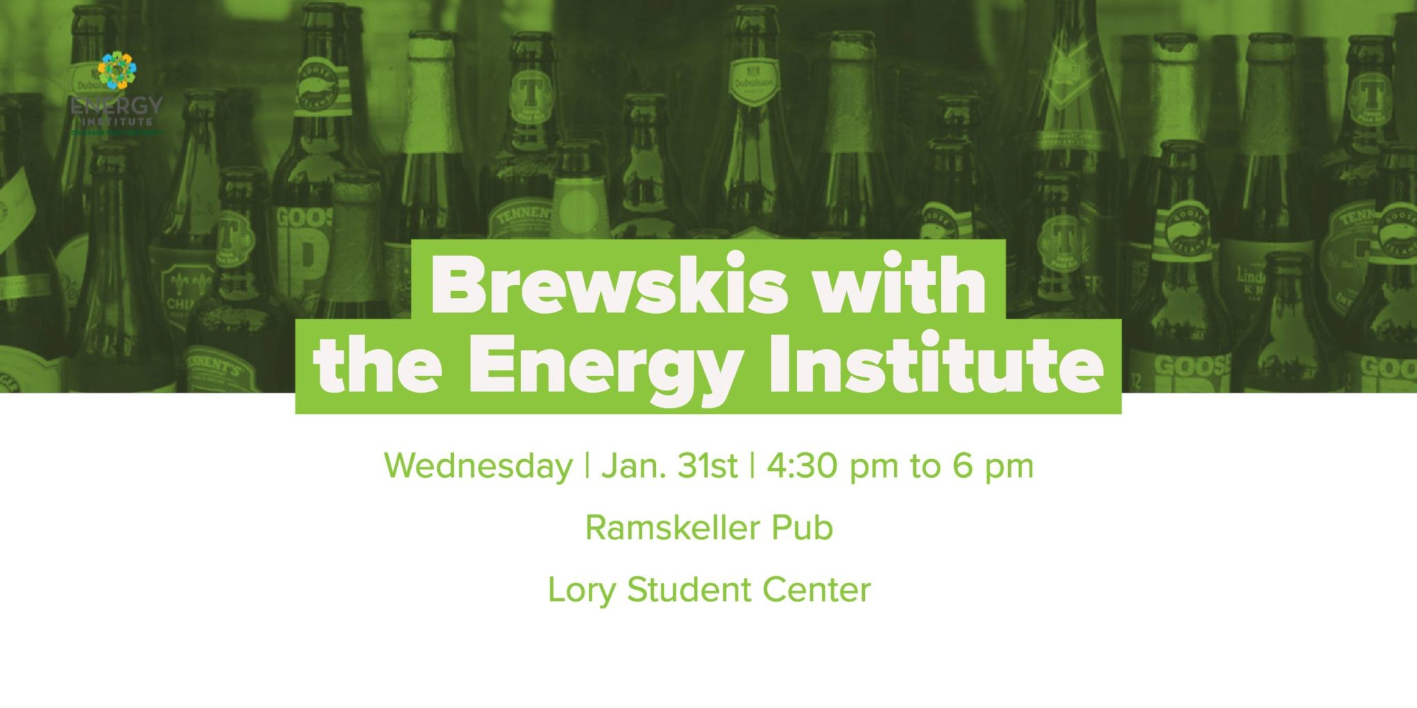 Brewskis with the Energy Institute