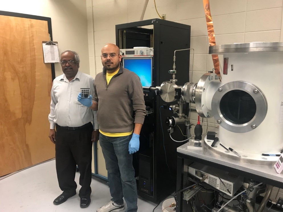 Researchers Sampath and Munshi