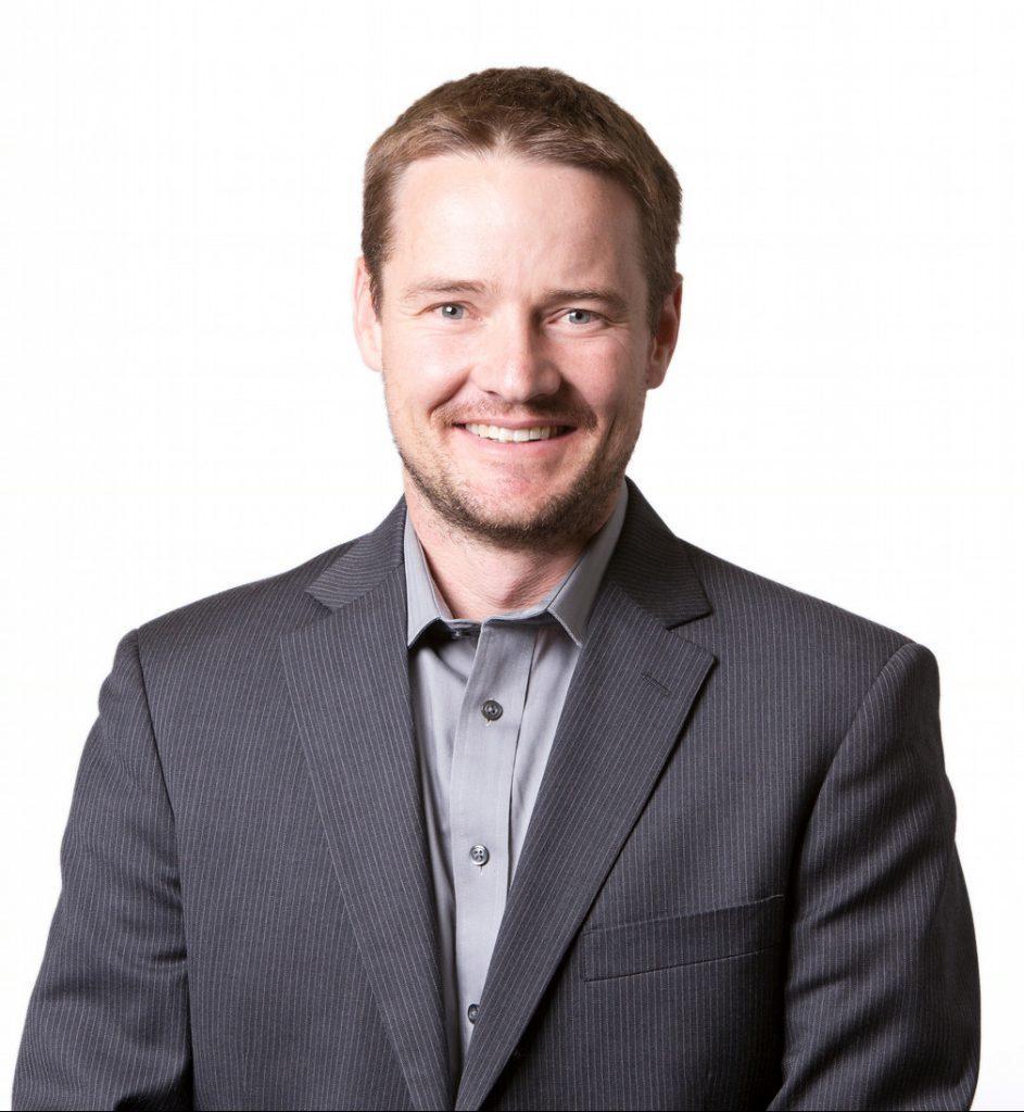 Portrait of Jason Quinn, mechanical engineering associate professor