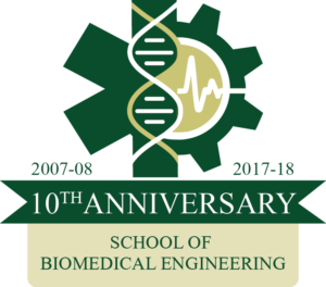 Biomedical Engineering 10th Anniversary Logo