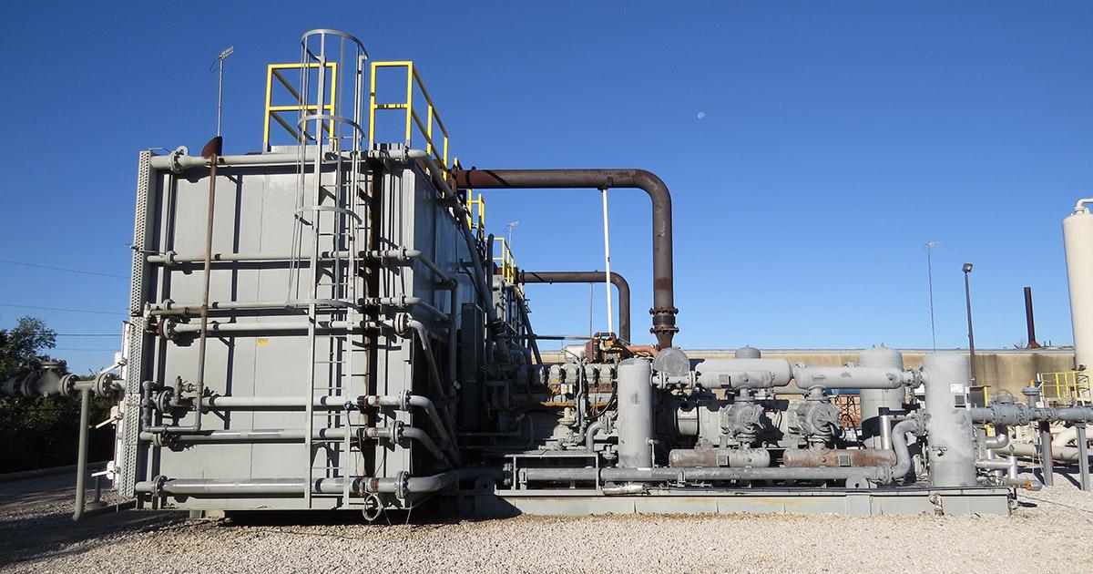 gathering compressor engine