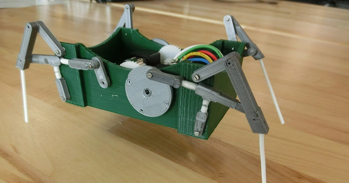 shape-morphing robot