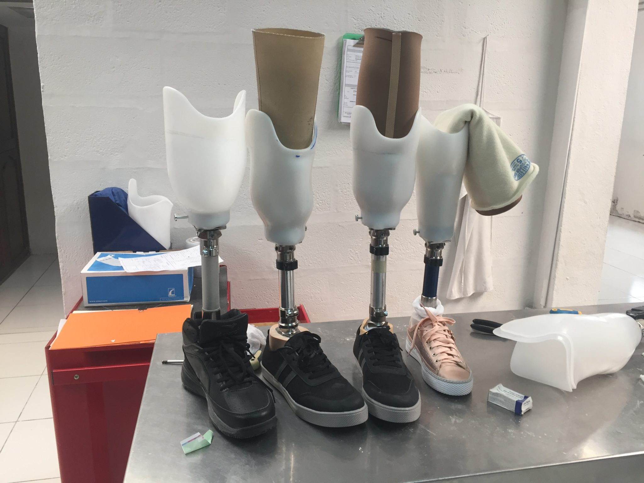Prosthetic Innovation in Ecuador