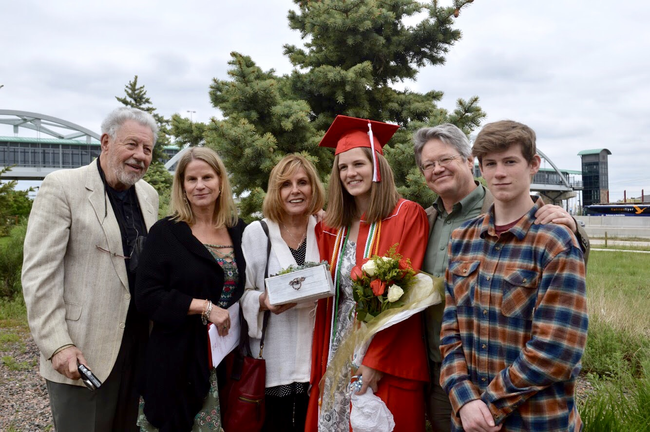 Kate Boyd and family