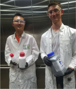 Crystallography interns