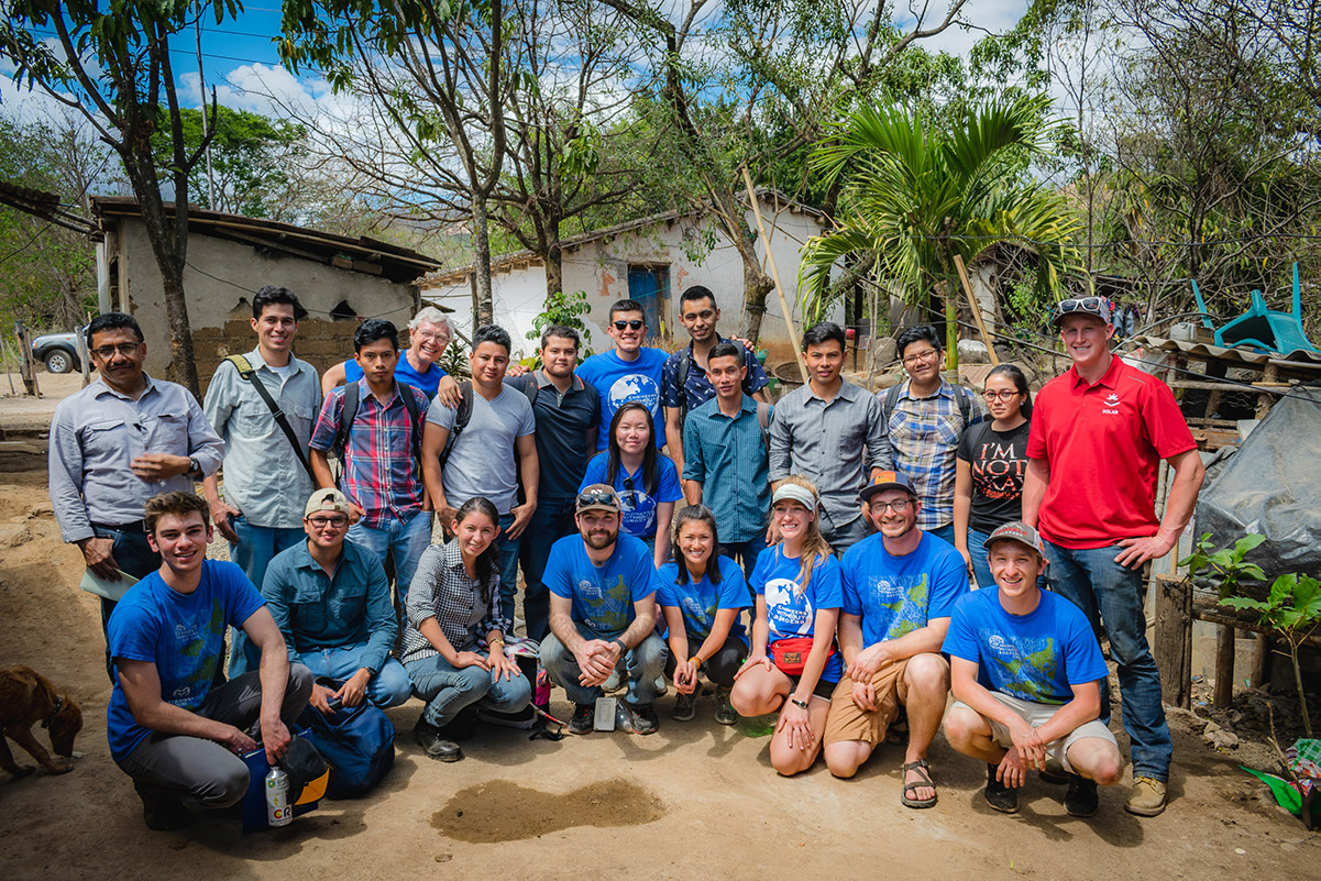 Students and faculty from Colorado State University and Santa Ana National University of El Salvador. Photo Credit: Platt Photography