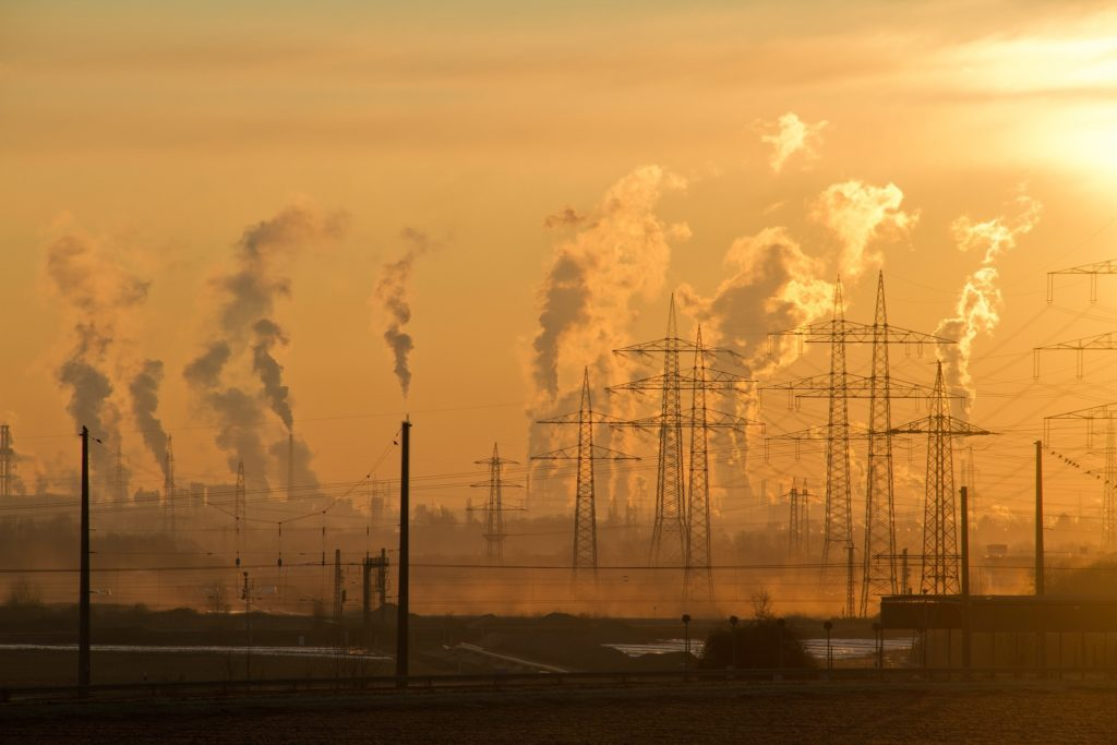 Greenhouse gas emissions from processes such as electricity generation and distribution will cause increased damage to society in future years.