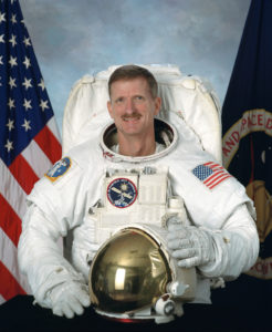 NASA astronaut Joe Tanner