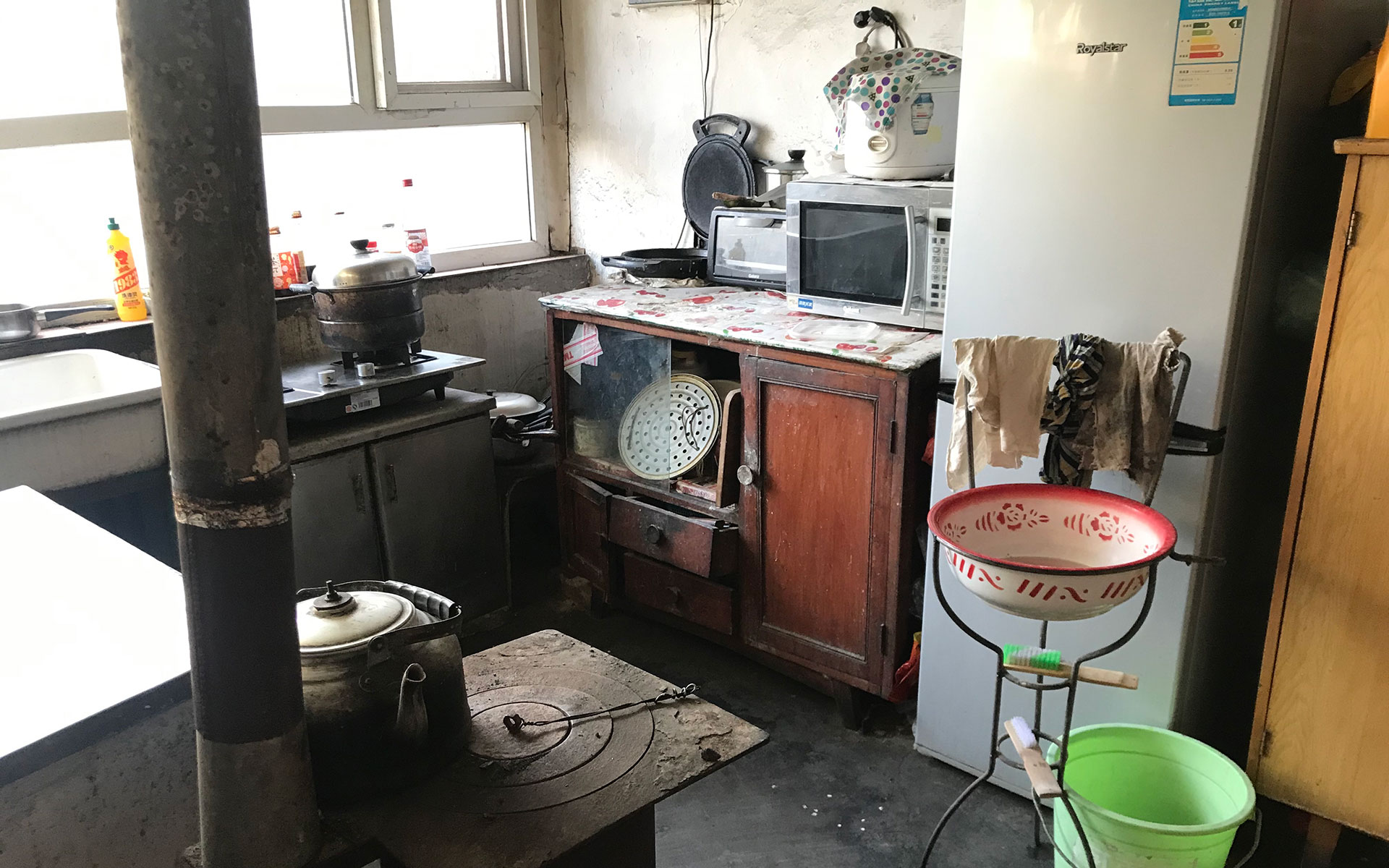 Kitchen in China