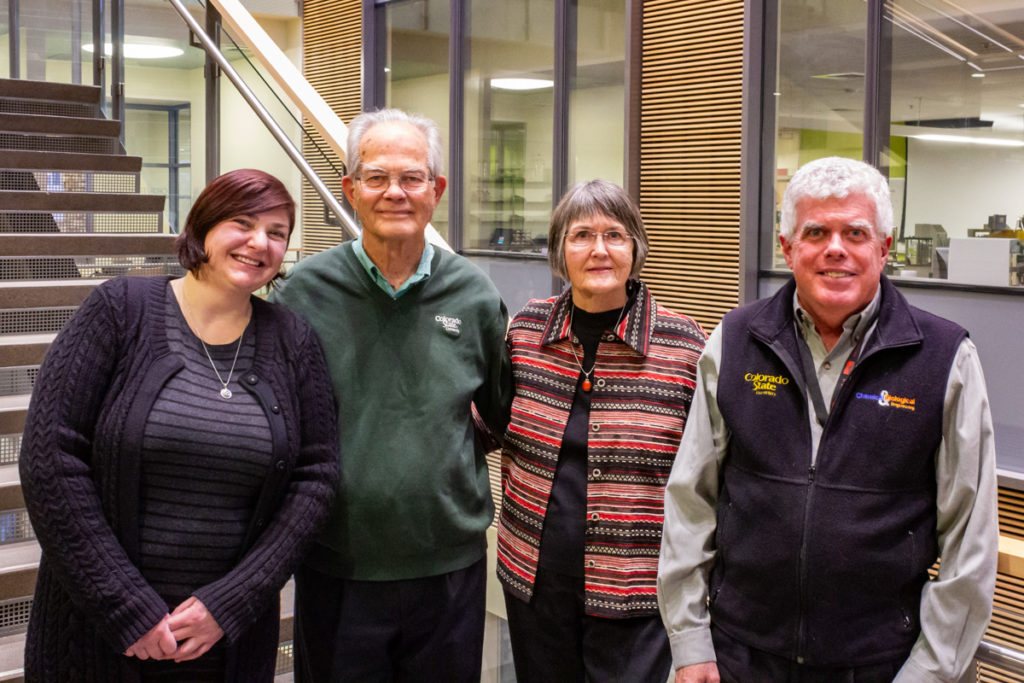 Lisa Weber, Jim and Susan Linden, David Dandy