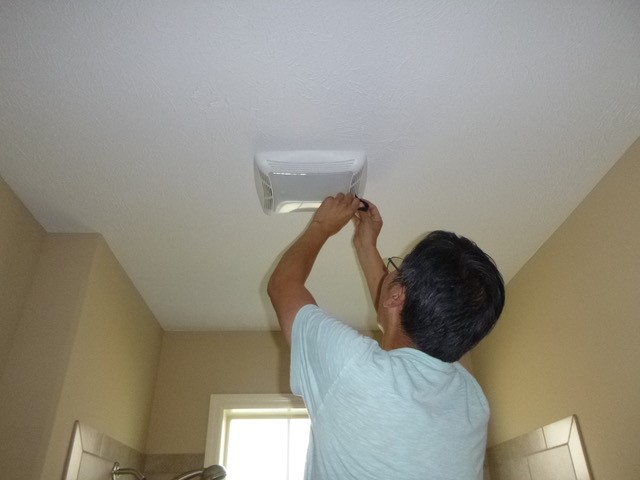 Using your exhaust fans can help improve the air quality in your home (photo courtesy of Paul Francisco, Indoor Climate Research and Training).