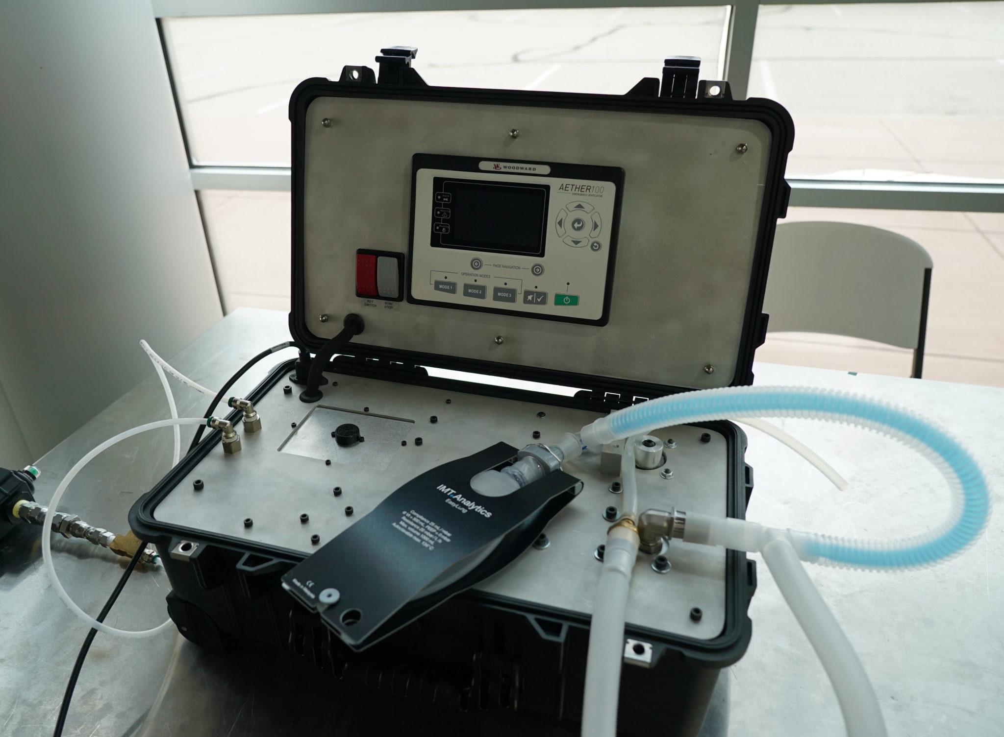 CSU-Woodward ventilator, the Aether-100