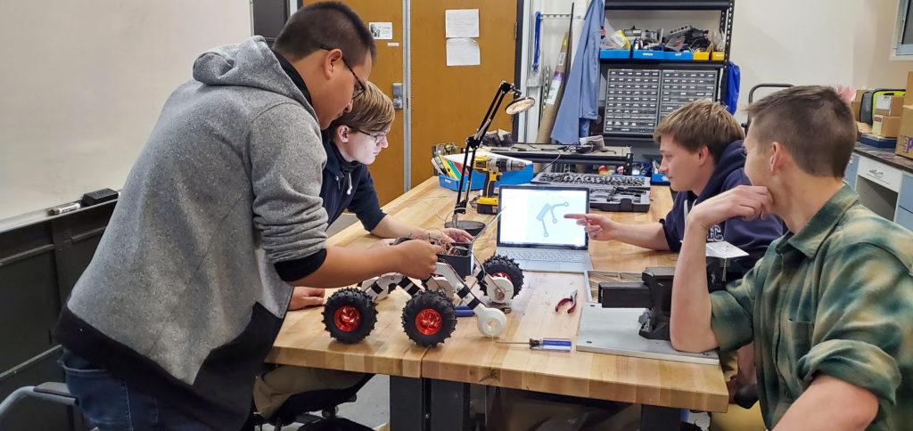 The 2019-2020 robotics autonomous vehicle team