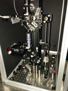harmonic optical tomography microscope