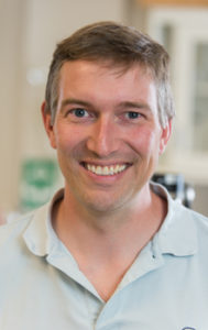 A picture of John Volckens, mechanical engineering professor