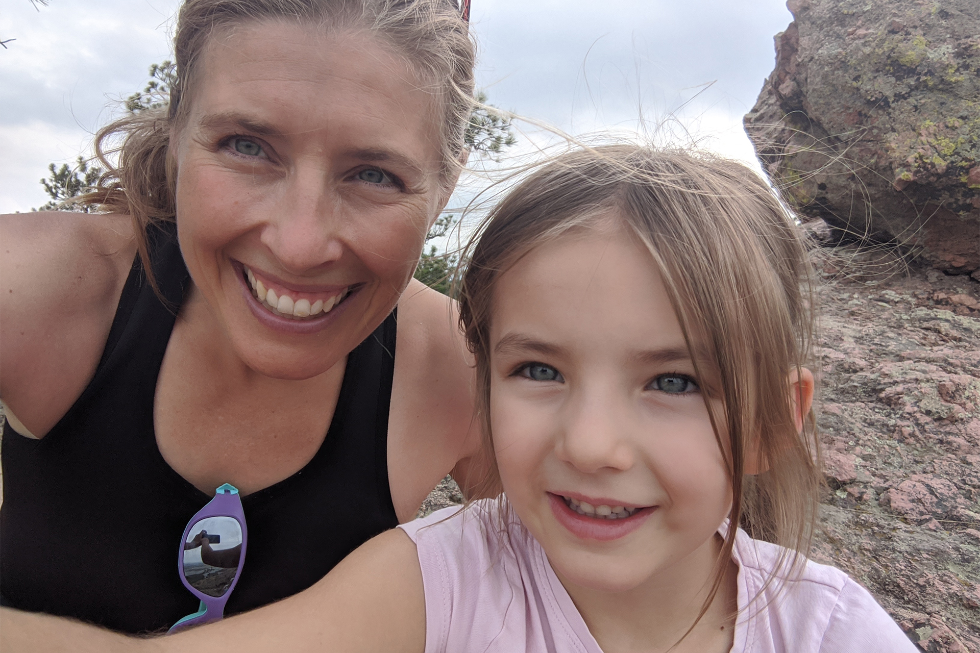 Emily fischer and daughter