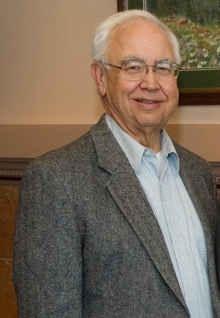 A portrait of Professor Emeritus Jud Harper