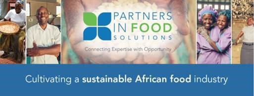 An image showing the logo for the General Mills Partners in Food Solutions program.