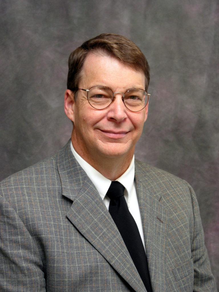 A portrait of Professor Ted Watson