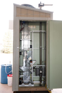 chain dryer and combustor section of toilet project